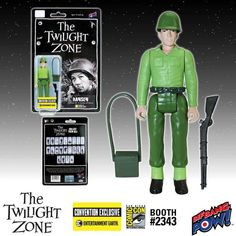 The Twilight Zone Hansen 3 3/4-Inch Action Figure In Color – Convention Exclusive