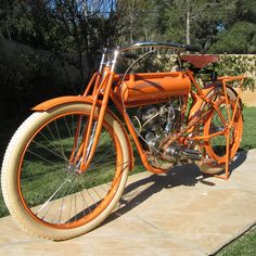 This 1910 Flying Merkel belt drive v twin is a perfect example of the type of early american motorcycle that continues to go up in value.