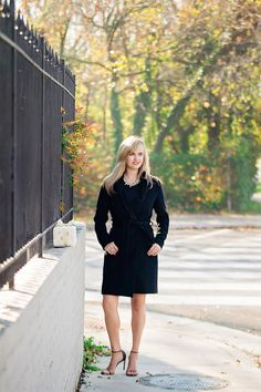 Photo Credit: Sarah Marcella Photography I met Nicole a very roundabout way: through her mother-in-law, Kathy Seifert. This might actually be our first mother-in-law and daughter-in-law pair to be featured in Street Style. Alexandria, High Neck Dress, Street Style, My Style, Dresses, Fashion, Turtleneck Dress, Gowns, Moda