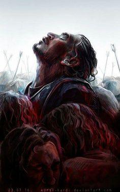 Jon Snow. Battle of Bastards.