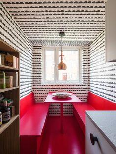 Cozinha com cantinho em destaque para refeições | CASA CLAUDIA