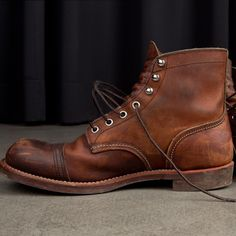 red wing iron ranger brogue - Google Search