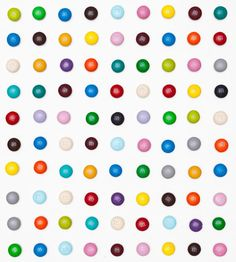 Brilliant - in homage to Damien Hirst at the Tate, Henry Hargreaves recreates his iconic spots with M!