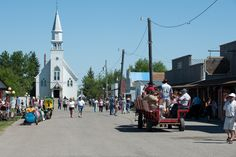 Pioneer Days at Bonanzaville in #Fargo, ND!