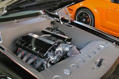 smooth engine bay classic mustang - Google Search