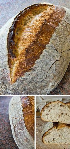 Recept na výborný domácí kváskový chléb - DIETA.CZ Czech Recipes, Bread And Pastries, Sourdough Bread, Different Recipes, Bread Baking, Bread Recipes, Love Food, Food And Drink, Yummy Food