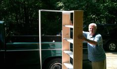 Crack Two: Hidden Door Bookshelf. DIY (16 pics)