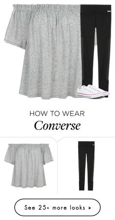 """""""Untitled #2679"""" by laurenatria11 on Polyvore featuring Victoria's Secret and Converse"""