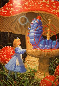 Trendy Ideas Poor Children Illustration Alice In Wonderland Alice In Wonderland Artwork, Alice And Wonderland Quotes, Adventures In Wonderland, Lewis Carroll, Inspiration Artistique, Go Ask Alice, Were All Mad Here, Chenille, Through The Looking Glass