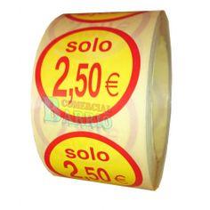 #EtiquetasAdhesivas para precios solo 2,5€
