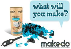 Makedo Make-Anything Kit - Classroom kit is affordable kit to make cardboard creations
