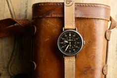 BELL & ROSS WWI-92 Heritage Collection fashion, vintage watches, men watch, style, ross ww192, bell ross, timepiec, bells, leather