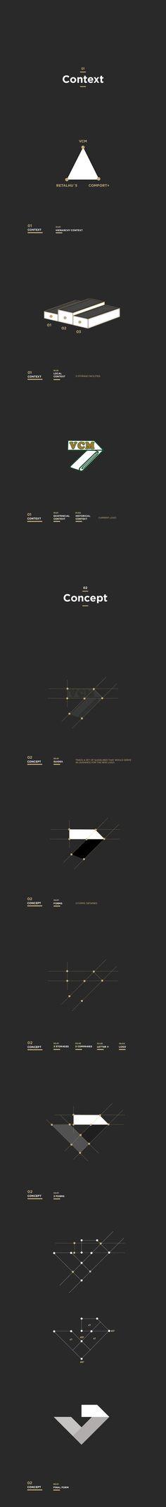 VCM Rebranding by Tiago Machado, via Behance