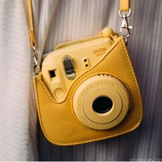 Spotted: instax mini 8 and instax case in yellow