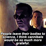 Moriarty - The Final Problem. I can imagine Moriarty eating a dead body on dinner... WHERE DID I JUST GO IN MY MIND?!