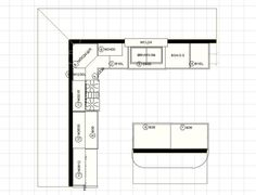Super Kitchen Designs 10 X 12 Layouts With Floating