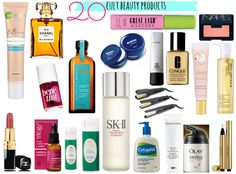 Classic Beauty Products 20 cult beauty products: are they in your cabinet?