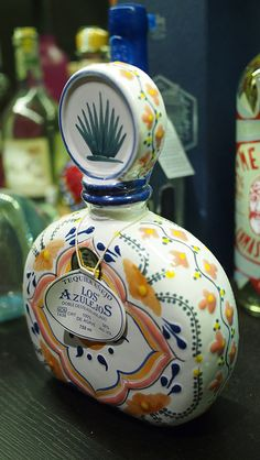 Tequila Bottle - I  need  this  delicious  spirit!
