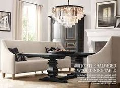 Convert your formal dining room into a functional dining/study/library with this table and chairs.