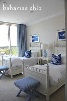decor style your style modern coastal interiors pineapples palms too Beach House Bedroom, Beach House Decor, Home Bedroom, Bedroom Decor, Home Decor, Beach Cottage Bedrooms, Bedroom Ideas, Coastal Bedrooms, Coastal Living Rooms
