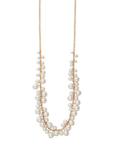 """Mixed Pearl Necklace 