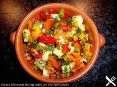 Andalusischer Gemüsesalat Salat - Spanien
