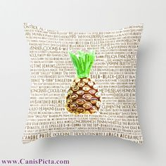 Psych Throw Pillow 16x16 by CanisPicta, $35.00