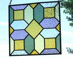 Rosa de vidrio con Panel de ventana de por LadybugStainedGlass