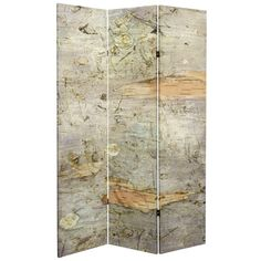 The Red Lantern Double Sided 3 Panel Pale Forest Canvas Room Divider 's clarity comes from the way the image is printed on the canvas exterior. Modern Room, Modern Decor, Forest Room, Floor Screen, Movable Walls, Shoji Screen, Fake Plants Decor, Panel Room Divider, Room Dividers