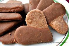 Herbatniki czekoladowe z czekoladą...z miłości do czekolady