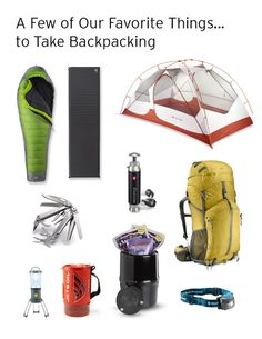 link to REI backpacking gear categories. Good go-to link for backpacking-specific gear. Not everything good that's out there, of course, but a good start. Thru Hiking, Hiking Tips, Camping And Hiking, Camping Survival, Hiking Gear, Hiking Backpack, Tent Camping, Camping Gear, Camping Hacks