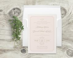 Lexington Wedding Invitation By Little Words Design Inspired Magnolia Trees And Deep Porches