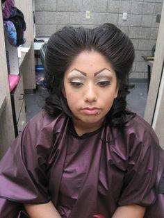 """""""Chola"""" Makeup"""