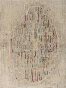 Painting Design Rug - Modern & Tibetan - Matt Camron Rugs & Tapestries