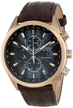 Citizen Men's Watches : Citizen Men's AT8013-17E Eco-Drive Limited Edition World Chronograph Dress Watch