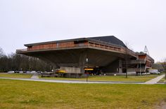 Aula of Delft University