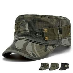 98e90130534 Male Gift Adult outdoor travelling flat army hats women and men summer  camouflage baseball caps