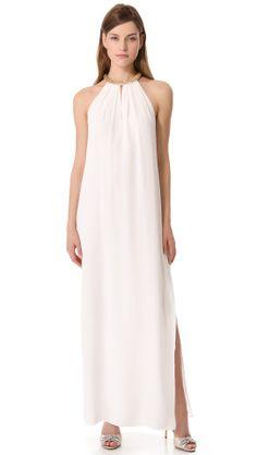 Rebecca Taylor Sequin Halter Gown   SHOPBOP