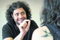 Alain Borek, comédien et musicien. © ARC/Jean-Bernard Sieber