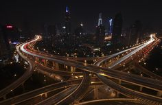 Shanghai - Highway long exposure