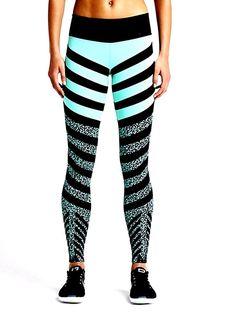Nike Legendary Mezzo Zebra Tight Women's Was $135 Large 689850 466
