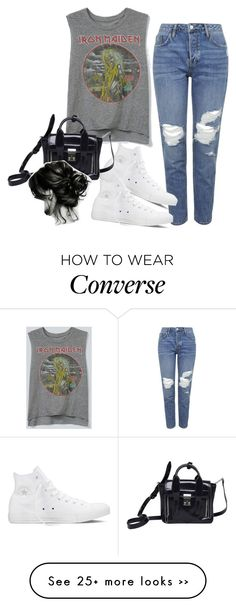 """""""Untitled #3274"""" by lilaclynn on Polyvore featuring moda, Topshop, Converse, 3.1 Phillip Lim, converse, topshop y 31philliplim"""