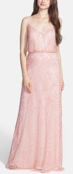 Pretty in pink #bridesmaiddress