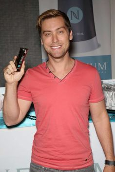 Lance Bass is excited to try the stuff Justin's Mom Lynn sells - NeriumAD night cream. Luckily you don't have to be a celebrity to try it. Order now with a risk free 30-day money back guarantee! www.cdh.nerium.com