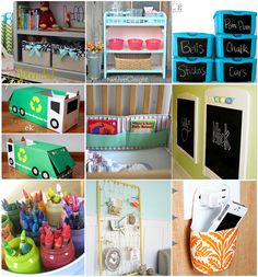 30 Ways To Repurpose Baby Items. I like the book pockets on the bumper pads.