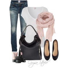 """Soft Pink"" by orysa on Polyvore Love the simplicity"