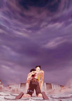 D. Ace and Luffy the saddest moment ! #OnePiece #sad