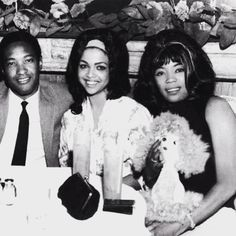 Tammi Terrell, Sam Cooke and I think that might be Betty Harris!