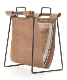 Would love for Rody to tool leather on this    Take a look at this Magazine Rack by GO Home on #zulily today!