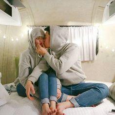 Imagen de couple, dating, and kiss